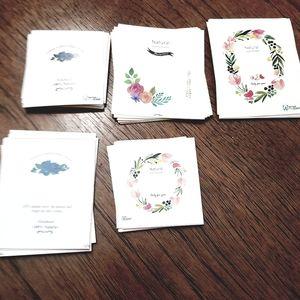 Craft label set